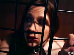 Spizoo - Pet Slut Chanel Preston is punished by two dicks, big booty