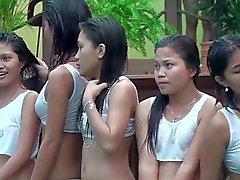 Bagnata T Abbigliamento nelle Filippine