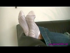 Anna Shoe Sock Removal