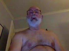 morfar stroke på webcam