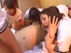 Japanese Reverse Gang Bang With Bisexuals
