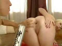 Isabella Clark gets double anal fisted