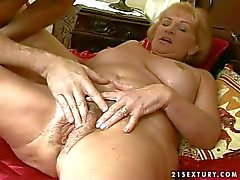 Horny mature granny gets nailed by grandad