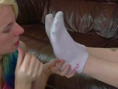 lesbian foot control