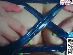 [ASMR] asiatique bleu-Haired Girl Licks vos oreilles