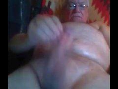Opa-Schlaganfall vor der Webcam
