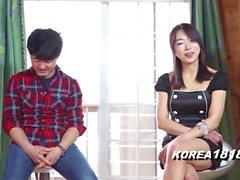 Кореи Porn СЕКСУАЛЬНЫЕ SLUT подразнить