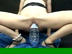 Mature babes extreme double fisting and bizarre huge bottles insertions
