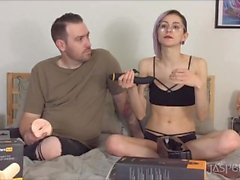 Jasper Blue & James Camden Pornhub Exclusive Toy Unboxing