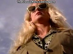 Marilyn Martyn, Ron Jeremy in young skinny blonde of 80s
