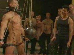 Adam Knox gets caught in a cum fest