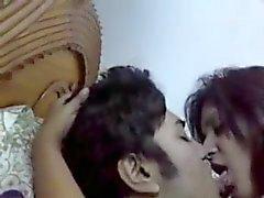 mycket heta indiska par