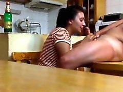 Ausspioniert meine Mutter und benachbarten in der Küche