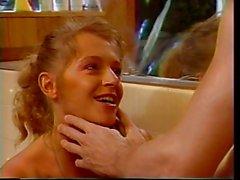 Couple having sex in bathtub