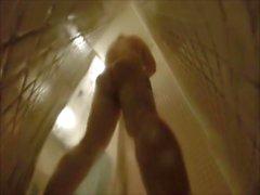 Shower Masturbation on Hidden Camera