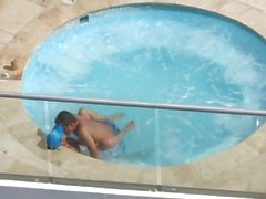 Spying from hotel