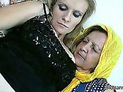 Abuelita caliente encanta tener lesbian sex part6