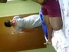 Northindian College Girl Nudely enjoyed in BF room - II