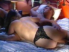 Di Alexandra Quinn di Carolyn di Monroe di Savannah nel fermaglio del porno classico
