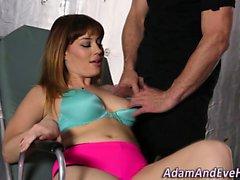 Heels slut titties fucked
