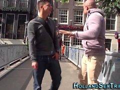 Buceta de prostituta holandesa bateu