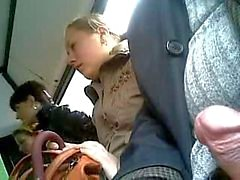 três mulheres no ônibus