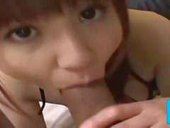 Sexy Cute Japanese Girl Sucks GV00174