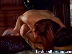 Cute and Horny Lesbians Bare Foot part4