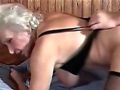 Pelosa Cornea Nonnina interna di sauna Bang