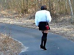Auf Айнем Spaziergang