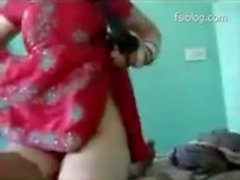 Newly married sexy Indian wife sucks and fucks her husband, Hindi audio