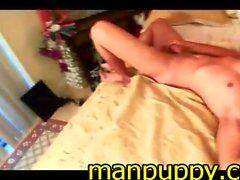 Twink Self Suck & Cum - Sabastian by Manpuppy