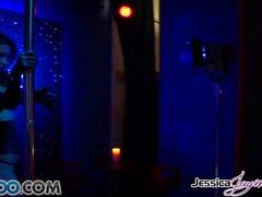 JessicaJaymes - Jessica prende due cazzi come un campione in una volta