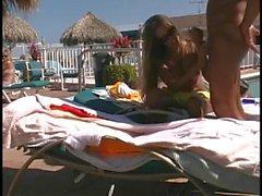 Amateur - Public Resort Fuck - Self Filmed