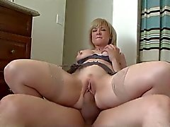 Sexy mom-whore & guy