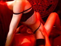 Teen Hot Tranny Strokes Her Lover While She Rides Him