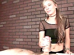 Massage Domina Pristine Edge verwendet Fleshlight