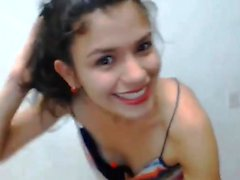 Sexy Latin Webcam Girl In Lingerie