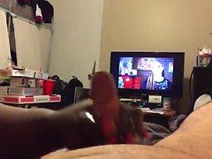 Ebony Dá Hot Masturbação Enthusiast Grande, a BF !!