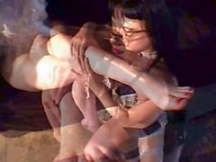 Lesbian Play with maid