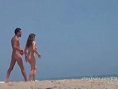 Wife naked beach cheat