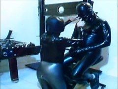 two stooges in latex
