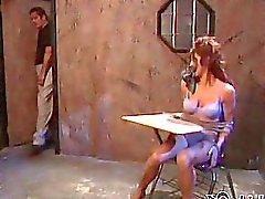 Branco brunette Estrelas em Linda de E do cavaleiro começ lhe Doutor da enfermeira