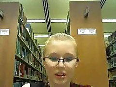 Crazy Library Girl