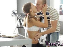 Eve angel cumshot Carre seduced by classmate