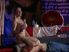 Bresciasex 2010 - Vittoria Risi - Live Show