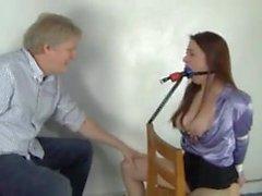 two horny bondage sluts
