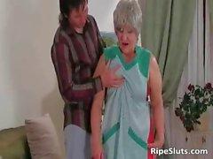 Busty chubby mature slut gets wet meaty part6