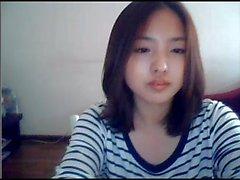 Korean Girl On Web Cam -