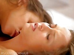 Nubile Films - Lesbian threesome with three best friends